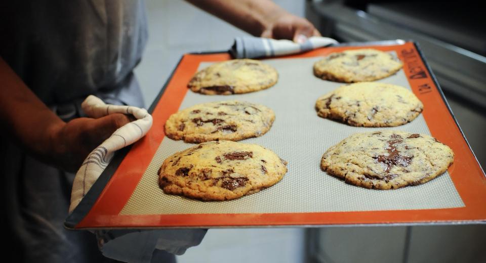 Cookies aux pépites de chocolat: la recette piquée au chef Jean-François Piège