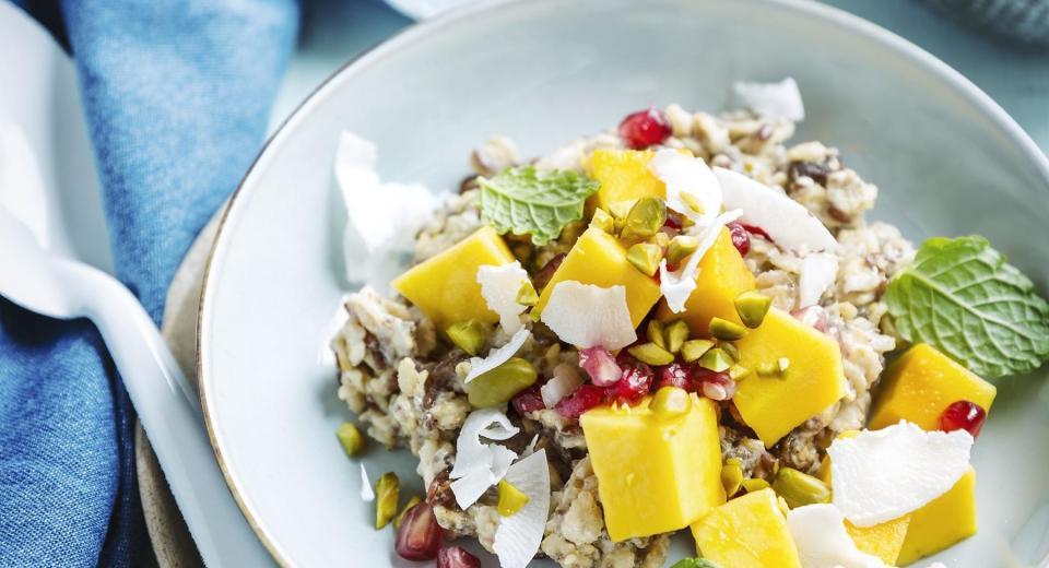 20 recettes avec des flocons d'avoine pour le petit déjeuner