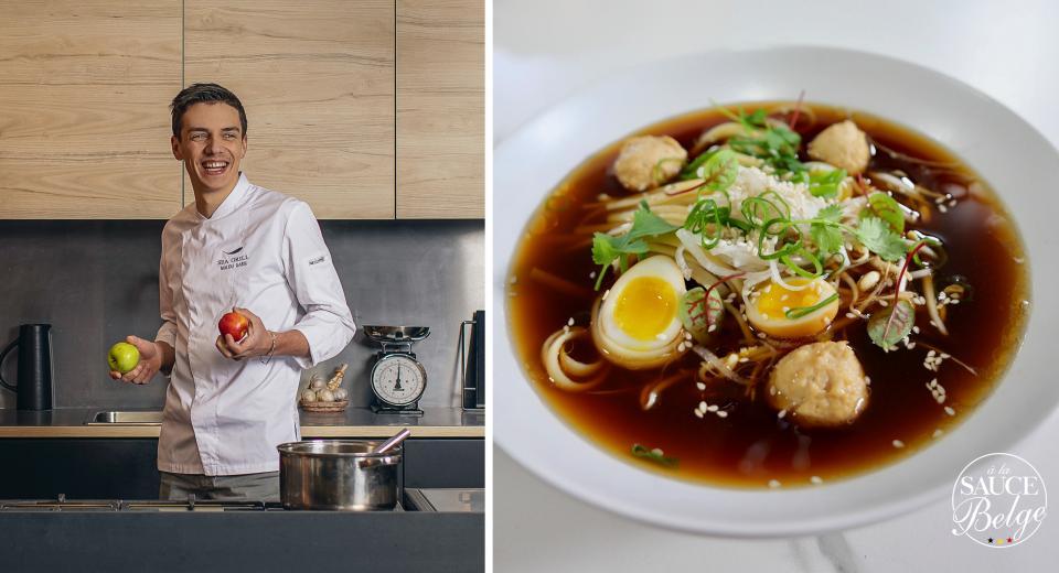 Top Chef 2020: le ramen au poulet fermier de Mallory