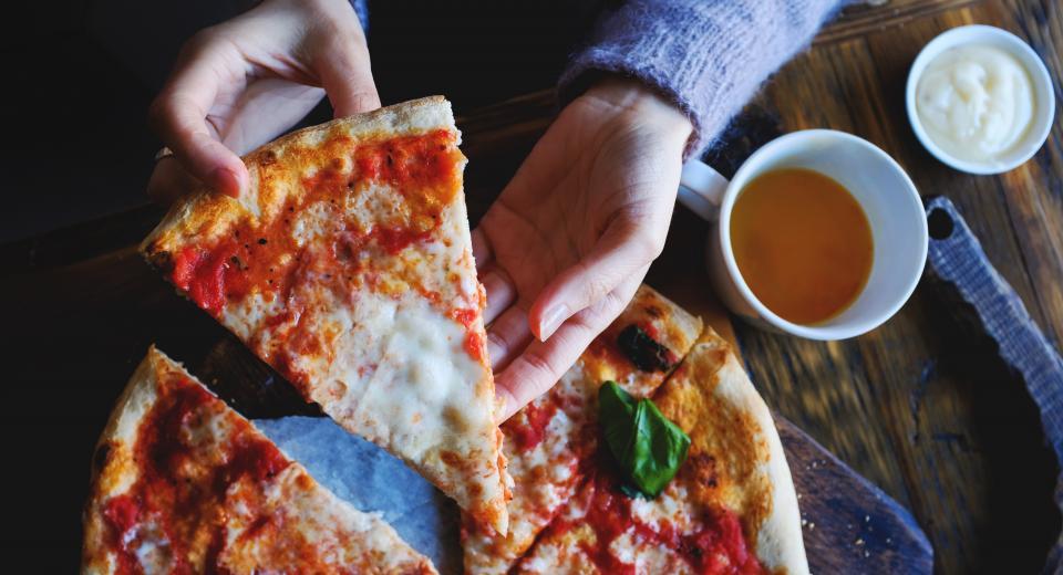 Zo warm je pizza opnieuw op