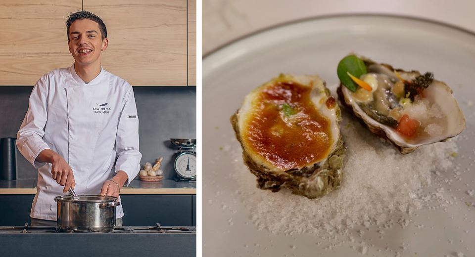Top Chef 2020 Les Huitres En Deux Facons De Mallory Cuisine Et