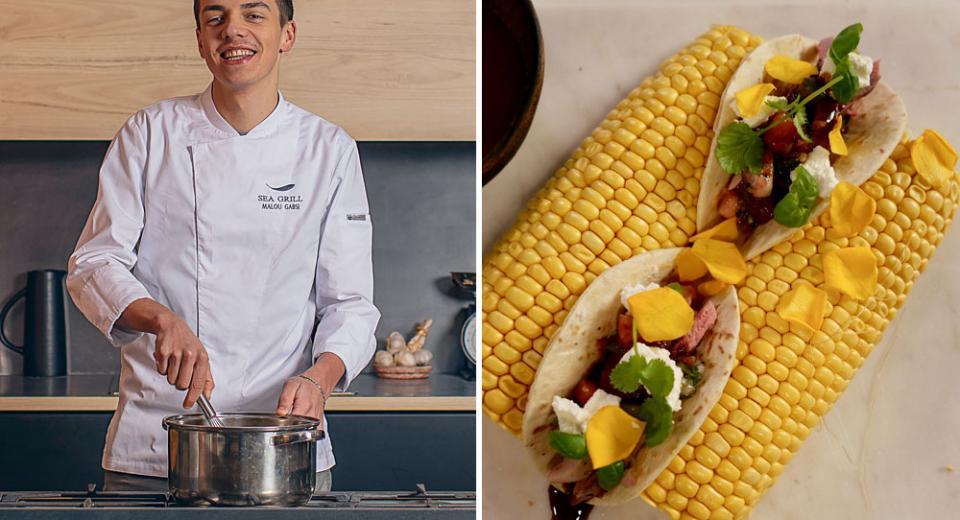 Top Chef 2020 Les Tacos De Caille Et Sauce Mexicaine De Mallory