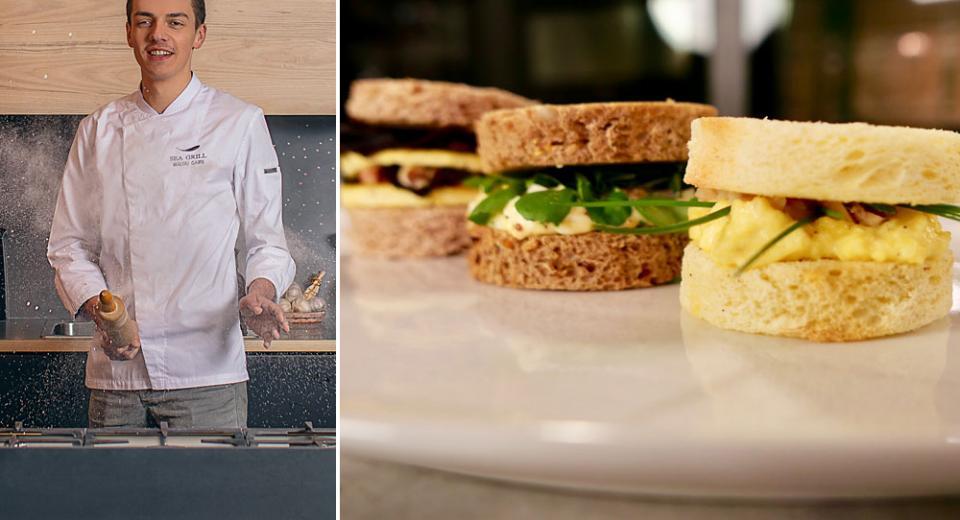 Top Chef 2020: 3 recettes de sandwichs aux œufs façon Mallory