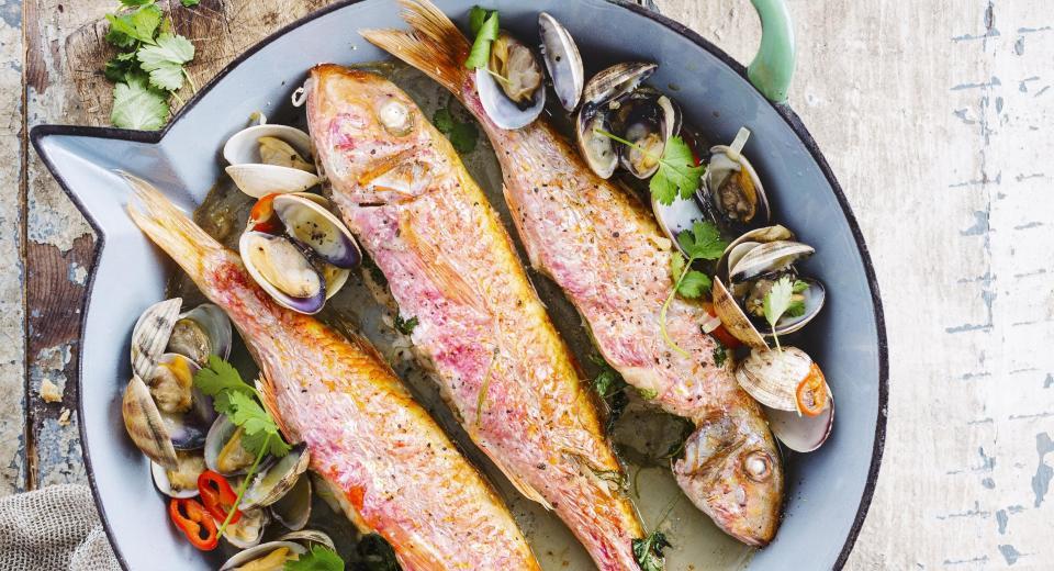Slanke recepten met vis