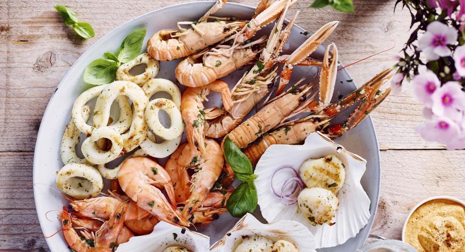 23 recettes avec des fruits de mer
