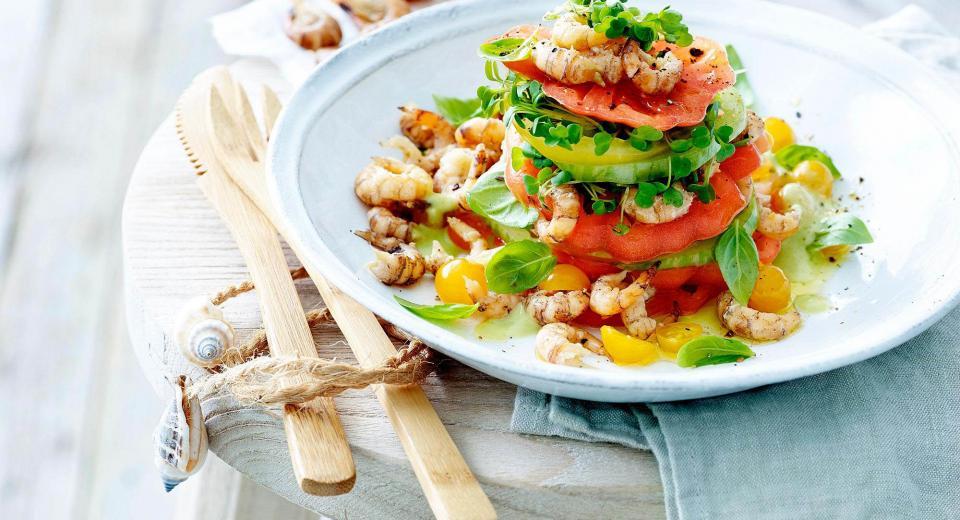 13 recettes estivales avec des crevettes grises