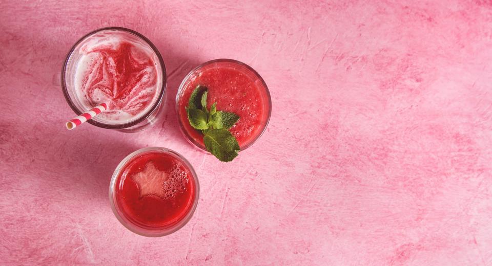 5 boissons estivales avec de la pastèque