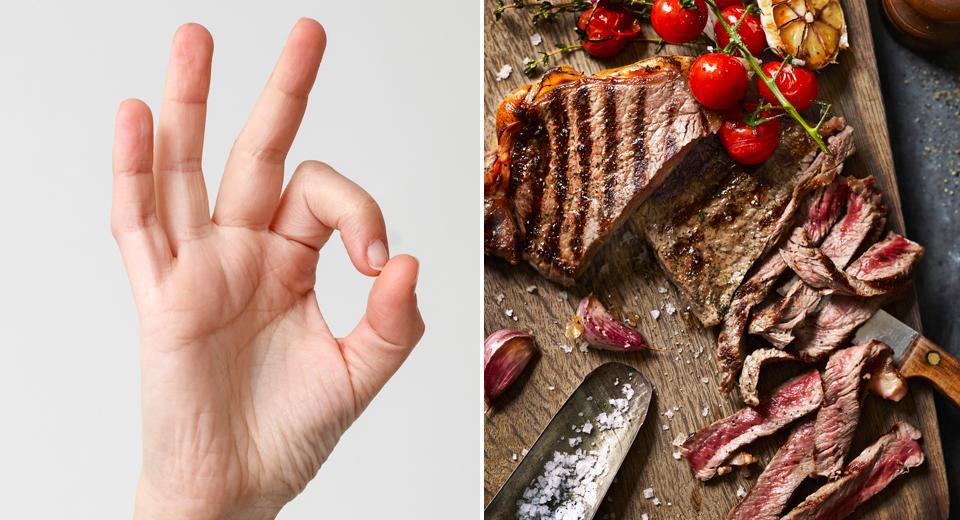 Cuire un steak à la bonne cuisson: le test du pouce, votre arme ultime!