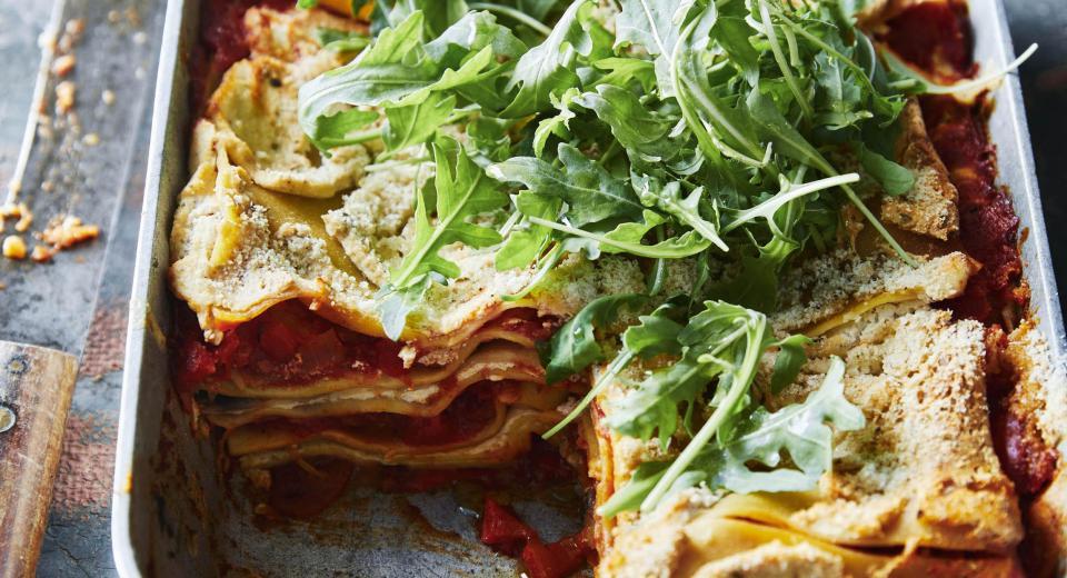 4 lasagnes véganes parfaites pour l'automne
