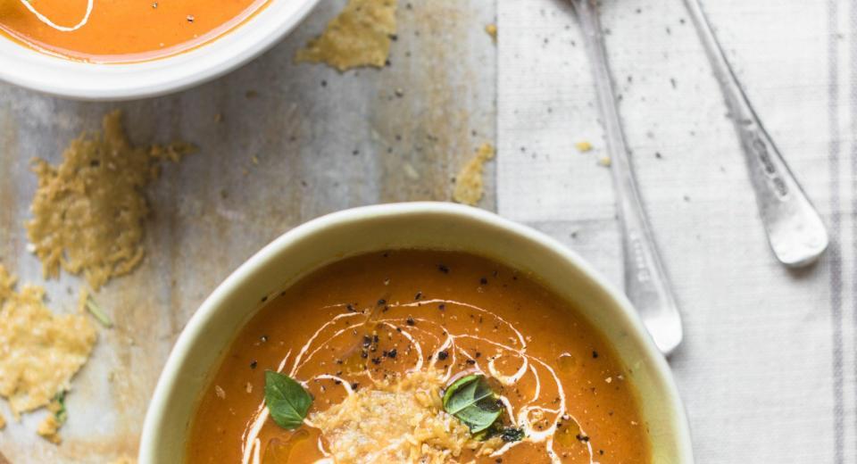 Hoe maak je soep feestelijk?