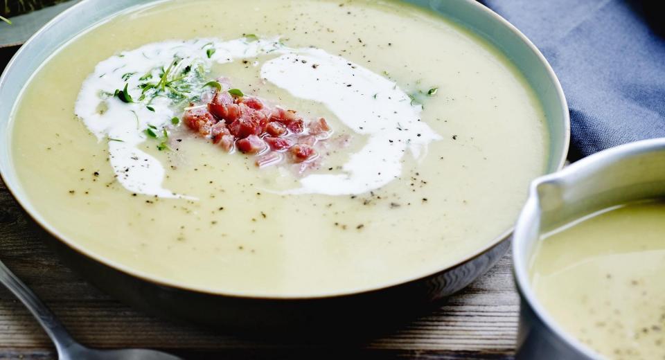 16x soep met spek