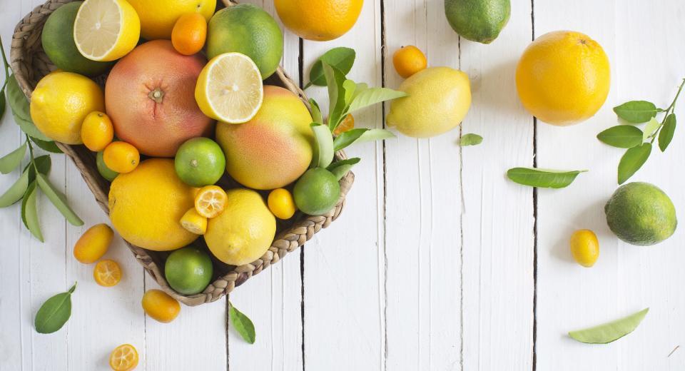 Gezond de winter door met citrusfruit