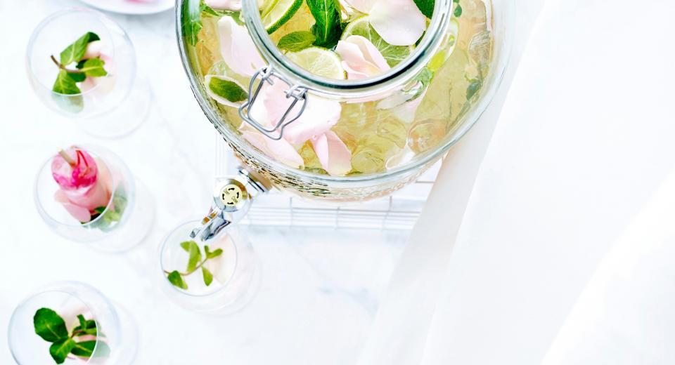 14x fleurige recepten met eetbare bloemen