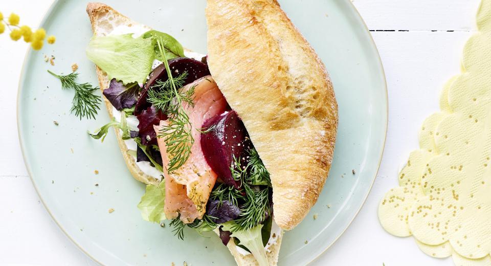 12 gezonde belegde broodjes vol energie