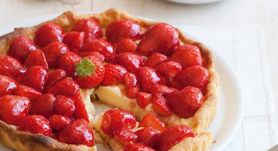 16 heerlijke aardbeientaarten