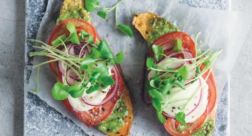Moet je nú proberen: toast van zoete aardappel