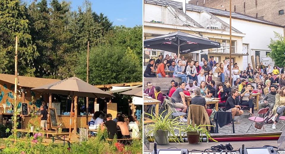 Bruxelles: 5 lieux éphémères à découvrir de l'autre côté du canal cet été