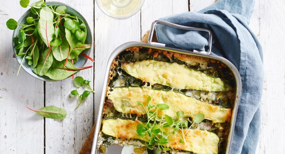 Lasagne met courgette: 10 zalige recepten