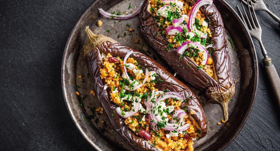Nos meilleures recettes d'aubergines farcies