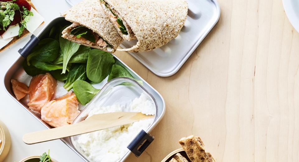 Lekkere lunch: wraps in plaats van boterhammen