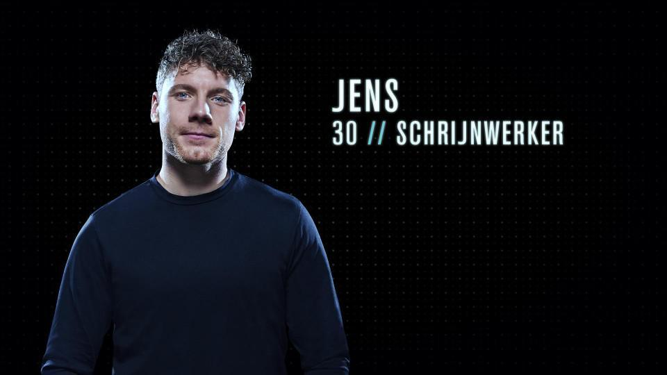 """Jens (30) - Schrijnwerker uit Ieper: """"Ik zou een goede Mol zijn omdat ik heel sociaal ben, maar goed onopgemerkt kan verdwijnen in een groep."""""""