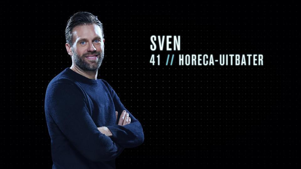 """Sven (41) - Horeca-uitbater uit Aalst: """"Ik zou een goede Mol zijn omdat ik mij geruisloos in een groep kan integreren zonder echt op te vallen."""""""