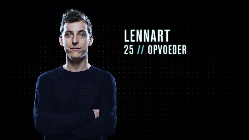 """Lennart (25) - Opvoeder uit Schoonbroek: """"Ik zou een goede Mol kunnen zijn omdat ik heel sociaal ben. Ik kan met iedereen goed opschieten en ik kan met iedereen plezier maken. Een mol moet goed in groep liggen."""""""