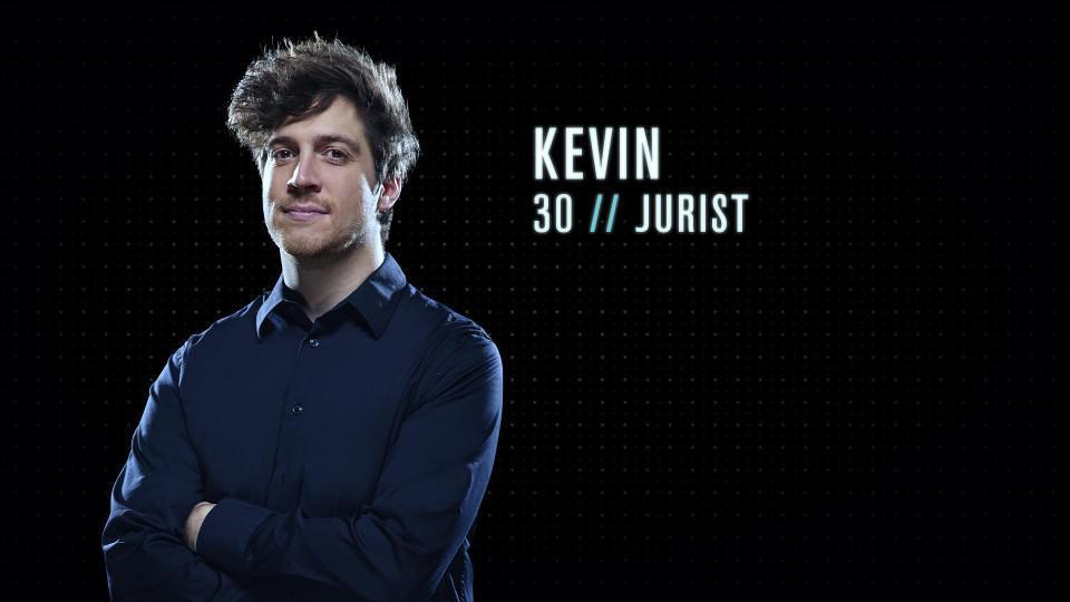 """Kevin (30) - Jurist uit Gent: """"Ik zou een goede Mol zijn omdat ik vrij goed ben in manipulatieve spelletjes. Ik kan ook snel onverwachte beslissingen nemen."""""""