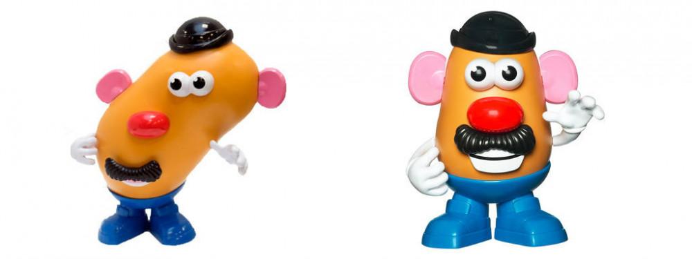 Monsieur patate déformé