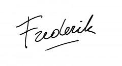 Handtekening Frederik