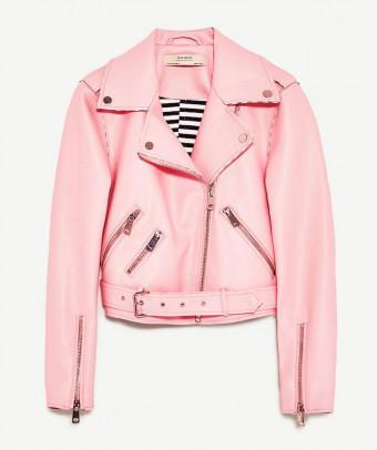Zara roze bikerjasje