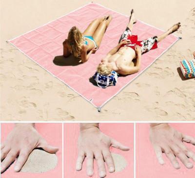 Zandvrij strandlaken