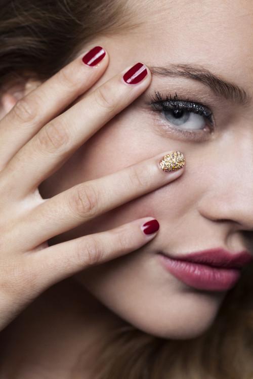 nagels glitter