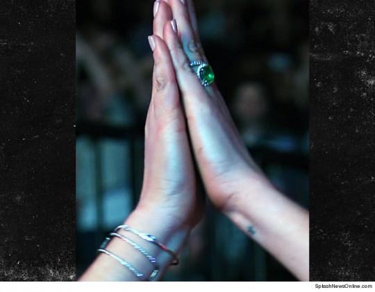 Lindsay Lohan verlovingsring