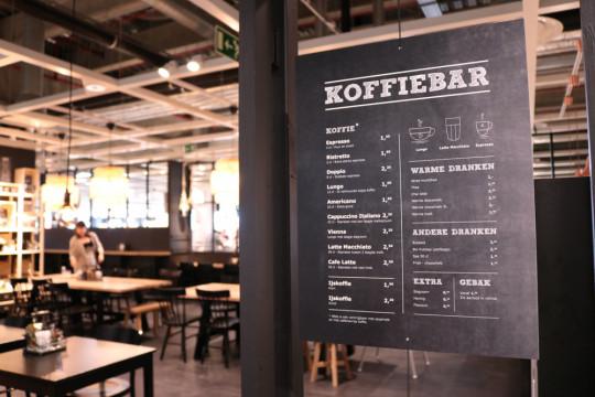 koffiebar FIKA in IKEA Gent