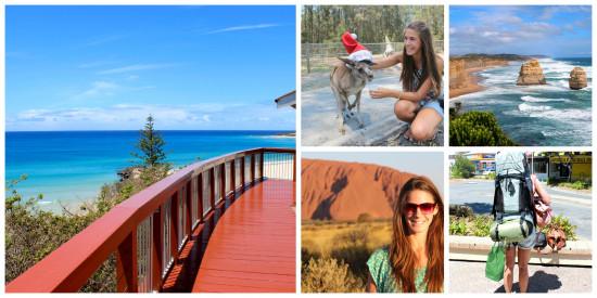 Australie, backpack, Flair