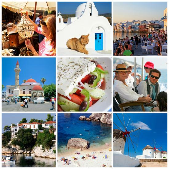 Griekenland, Flair, vakantie, eilanden, fun, zon