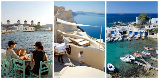 de cycladen, Flair, vakantie, zon, zee ,strand