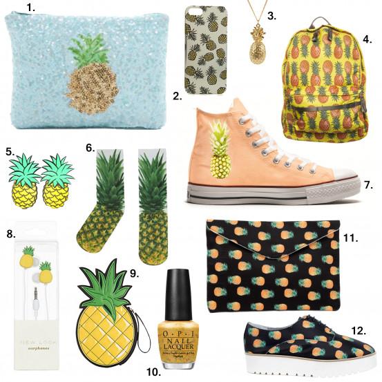 Ananas pineapple mode