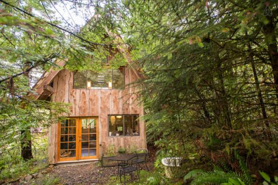 airbnb's in het groen