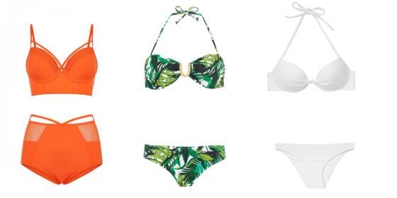 Bikini's voor grote borsten