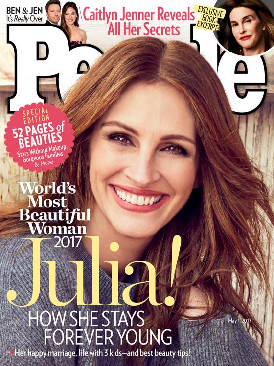 Julia Roberts Is Voor De Vijfde Keer De Mooiste Mens Ter