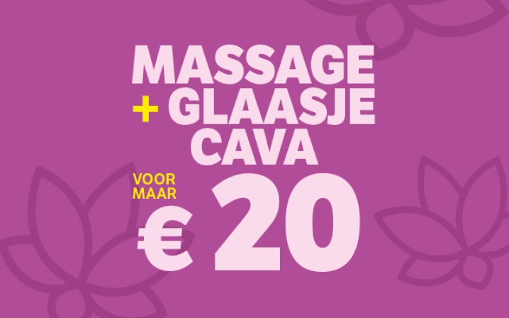 Massage + cava