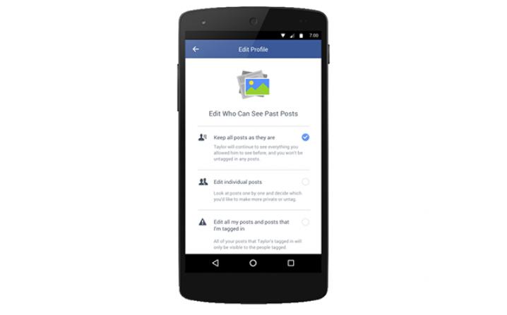Facebook uit elkaar