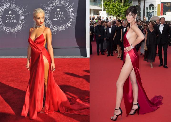 Bella Hadid en Rita Ora