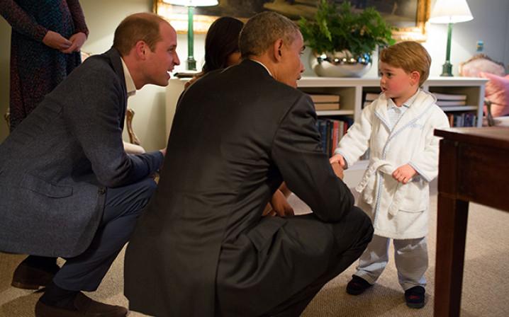 William George Obama