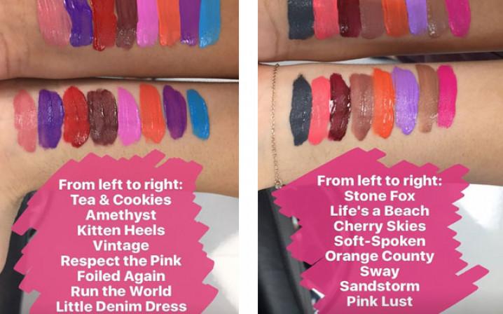 NYX Liquid Suede Lipsticks