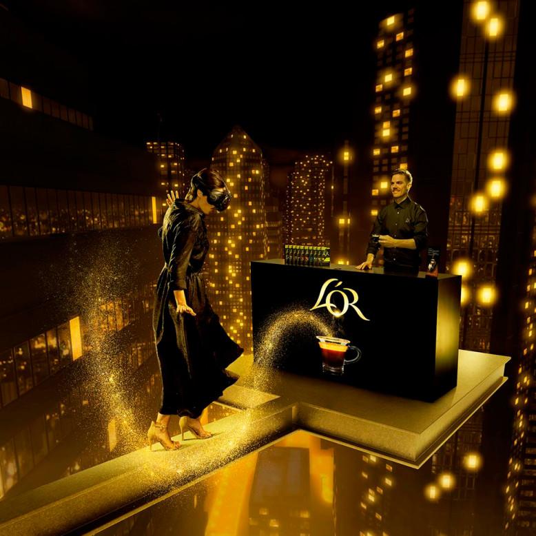 L'Or virtuele koffiebar