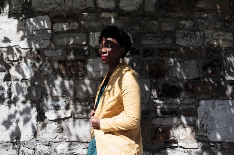 Marianne Célis photographiée par Lynn Vanwonterghem