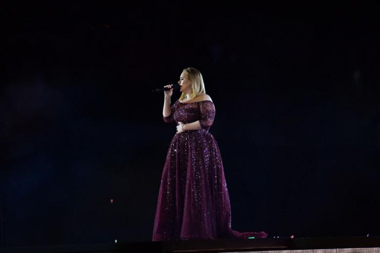 Adele en concert - Getty Images